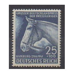 Allemagne - 1941 - No 703 - Chevaux