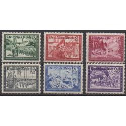 Allemagne - 1941 - No 697/702 - Service postal