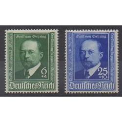 Allemagne - 1940 - No 684/685 - Santé ou Croix-Rouge