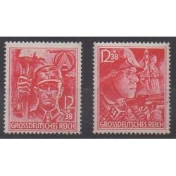 Allemagne - 1945 - No 825/826 - Seconde Guerre Mondiale