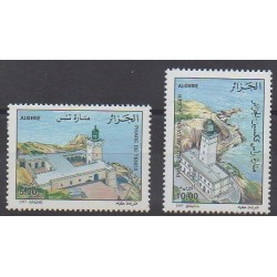 Algeria - 1997 - Nb 1145/1146 - Lighthouses