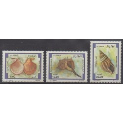 Algeria - 1997 - Nb 1148/1150 - Sea animals