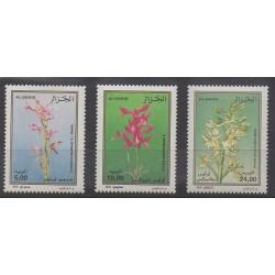 Algeria - 2000 - Nb 1266/1268 - Orchids