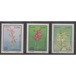 Algérie - 2000 - No 1266/1268 - Orchidées