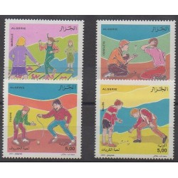 Algérie - 2001 - No 1287/1290 - Enfance