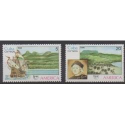 Cuba - 1990 - Nb 3056/3057 - Christophe Colomb - Postal Service