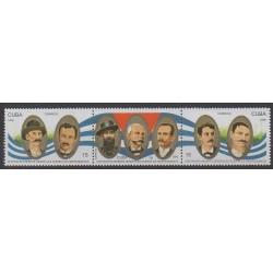 Cuba - 1996 - Nb 3557/3559 - Various Historics Themes