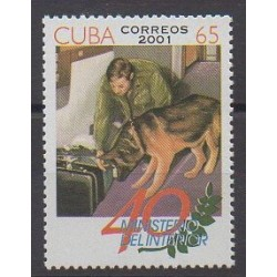 Cuba - 2001 - Nb 3936A - Dogs