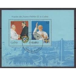 Cuba - 1998 - No BF151 - Papauté - Oblitéré