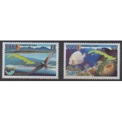 Cuba - 2004 - No 4190/4191 - Environnement - Service postal