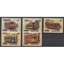 Cuba - 2004 - Nb 4153/4157 - Transport
