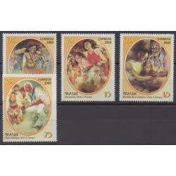 Cuba - 2000 - No 3848/3851 - Peinture