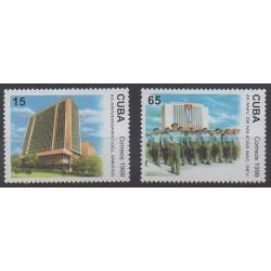 Cuba - 1999 - Nb 3840/3841 - Various Historics Themes