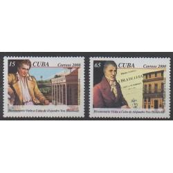 Cuba - 2000 - Nb 3905/3906 - Various Historics Themes