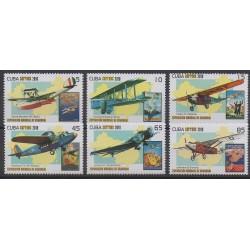 Cuba - 2010 - Nb 4855/4860 - Planes