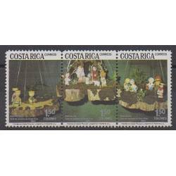 Costa Rica - 1983 - Nb 367/369 - Christmas