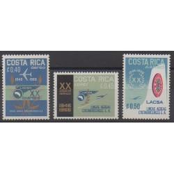Costa Rica - 1967 - Nb PA464/PA466