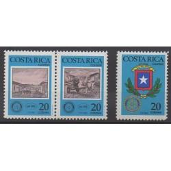 Costa Rica - 1987 - No 488/490 - Rotary ou Lions club