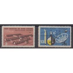 Cuba - 1965 - No 829/830 - Sciences et Techniques