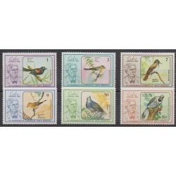 Cuba - 1986 - No 2674/2679 - Oiseaux