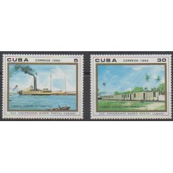 Cuba - 1990 - Nb 2999/3000 - Postal Service