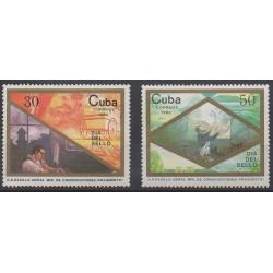 Cuba - 1988 - Nb 2847/2848