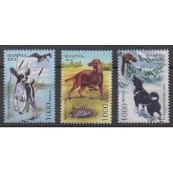 Belarus - 2010 - Nb 719/721 - Dogs