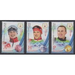 Biélorussie - 2010 - No 702/704 - Jeux olympiques d'hiver
