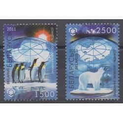 Biélorussie - 2011 - No 728/729 - Polaire