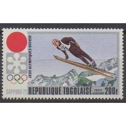 Togo - 1971 - Nb PA167 - Winter Olympics