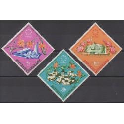 Togo - 1967 - No 536/538 - Exposition