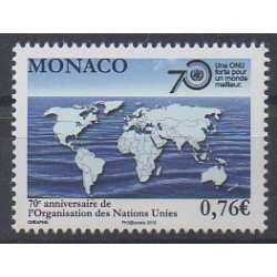 Monaco - 2015 - No 3003 - Nations unies