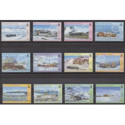 British Antarctic Territory - 2003 - Nb 370/381 - Polar