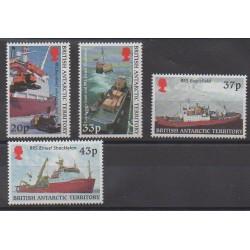 British Antarctic Territory - 2000 - Nb 321/324 - Boats - Polar