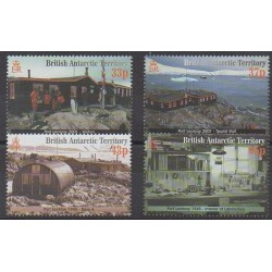 British Antarctic Territory - 2001 - Nb 329/332 - Polar