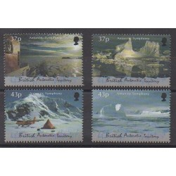 British Antarctic Territory - 2000 - Nb 325/328 - Polar