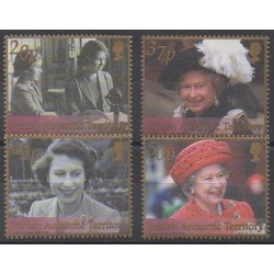 British Antarctic Territory - 2002 - Nb 339/342 - Royalty