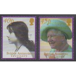 British Antarctic Territory - 2002 - Nb 343/344 - Royalty