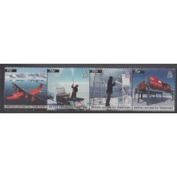 British Antarctic Territory - 2011 - Nb 556/559 - Polar - Science