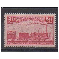 Belgium - 1935 - Nb CP200 - Trains - Mint hinged
