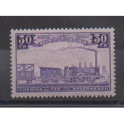 Belgium - 1935 - Nb CP198 - Trains - Mint hinged
