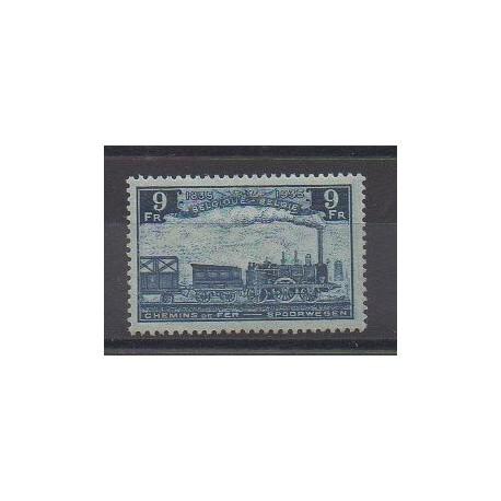 Belgique - 1935 - No CP195 - Chemins de fer - Neuf avec charnière
