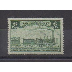 Belgium - 1935 - Nb CP192 - Trains - Mint hinged