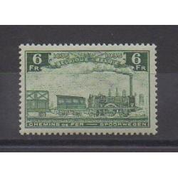 Belgique - 1935 - No CP192 - Chemins de fer - Neuf avec charnière