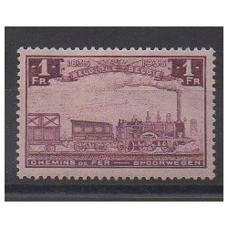 Belgium - 1935 - Nb CP187 - Trains - Mint hinged