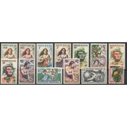 Polynesia - Complete year - 1958 - Nb 1/13