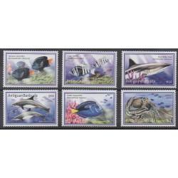 Antigua and Barbuda - 2001 - Nb 2963/2968 - Sea animals