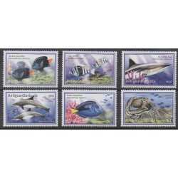 Antigua et Barbuda - 2001 - No 2963/2968 - Animaux marins