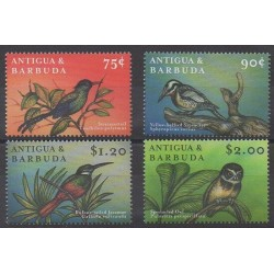 Antigua et Barbuda - 2000 - No 2673/2676 - Oiseaux
