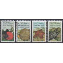 Antigua et Barbuda - 1985 - No 855/858 - Animaux marins